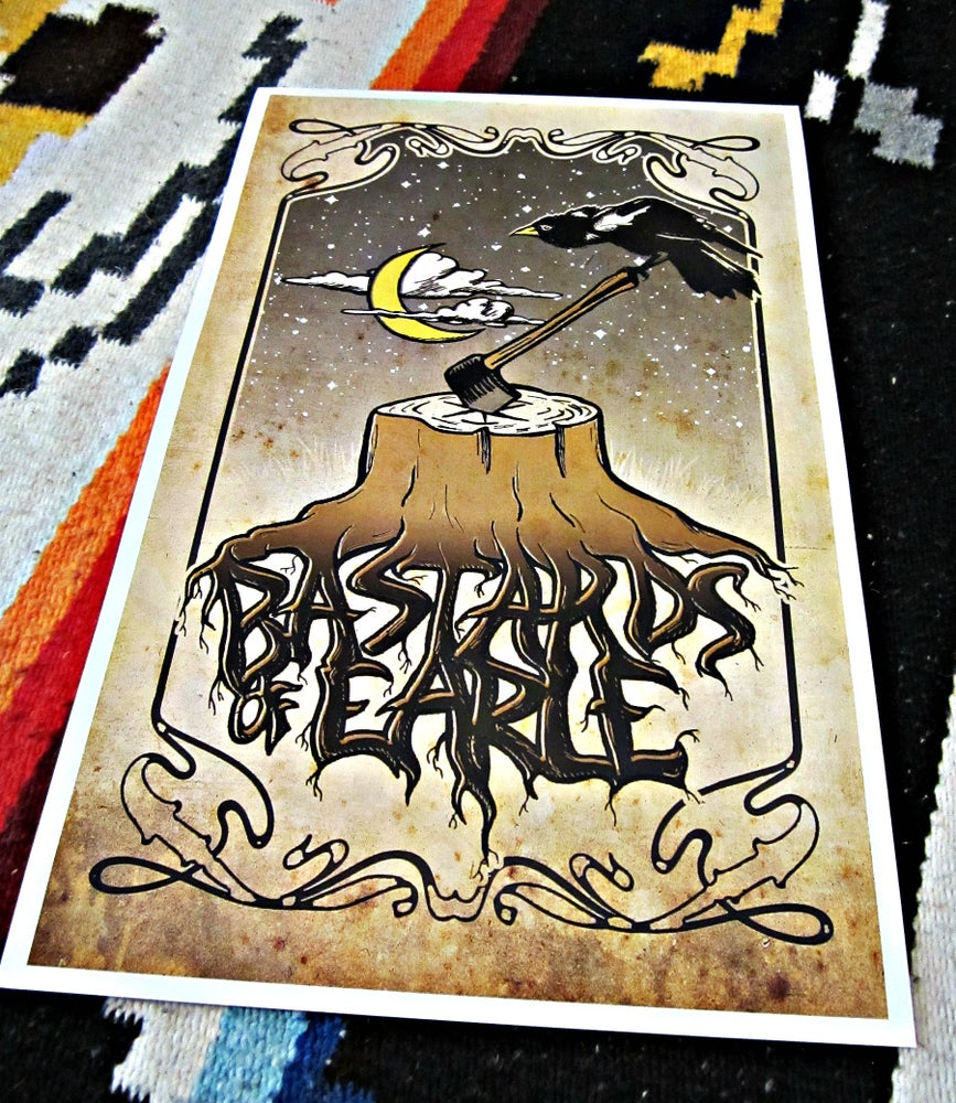 Image of Bastards of Earle Poster