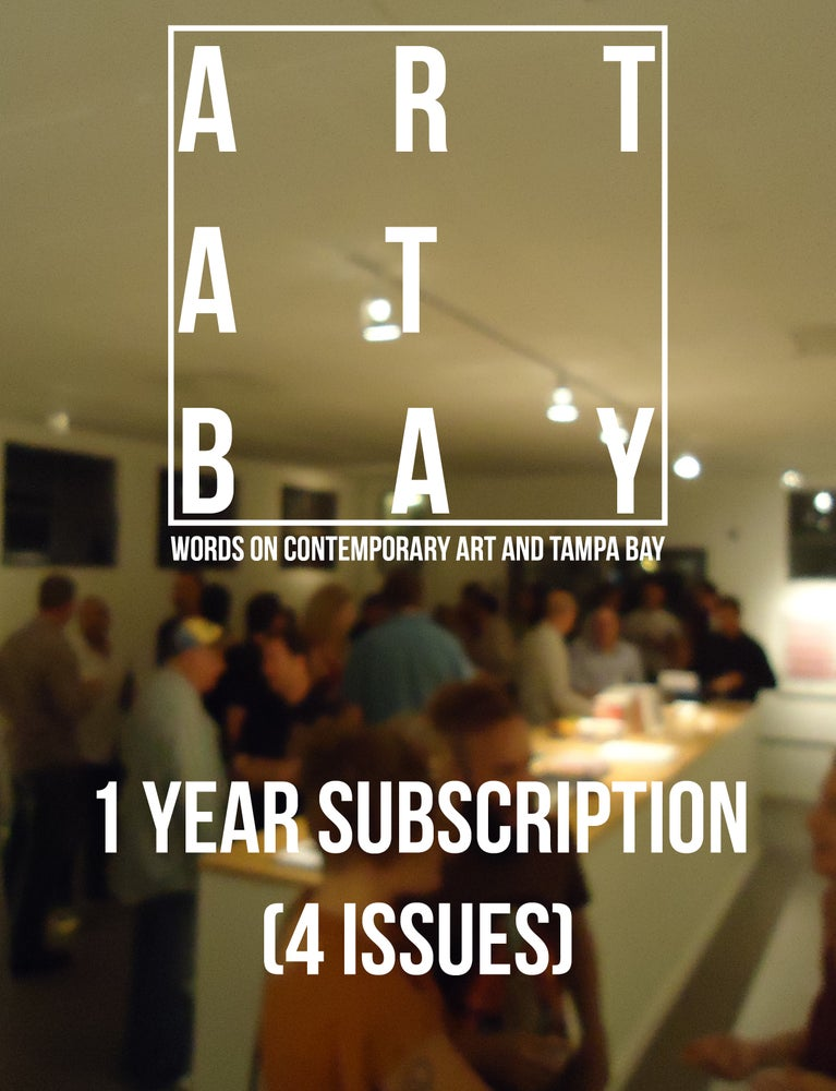 Image of One Year Subscription to ART AT BAY Magazine