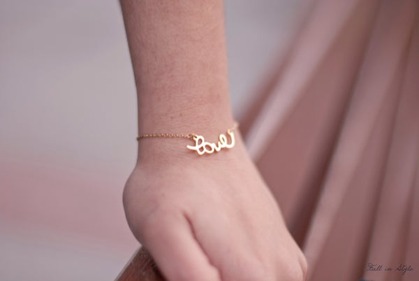 Image of Pulsera Delicate: Love
