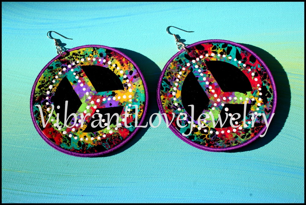 "Image of ""Solid Peace"" Earrings"