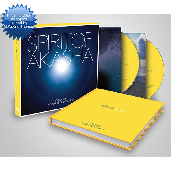 Image of SPIRIT OF AKASHA (PREMIUM CD) AUTOGRAPHED BY G.WAYNE THOMAS