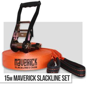 Image of 15m Maverick Slackline Set