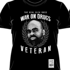 "Image of LA.HI™Apparel<br>Freeway Rick Ross X LA.HI™""War On Drugs Veteran - The Real Rick Ross"" Collab"