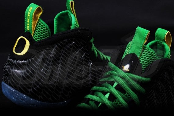 Image of Nike Air Foamposite One Oregon Ducks 807635c5f8