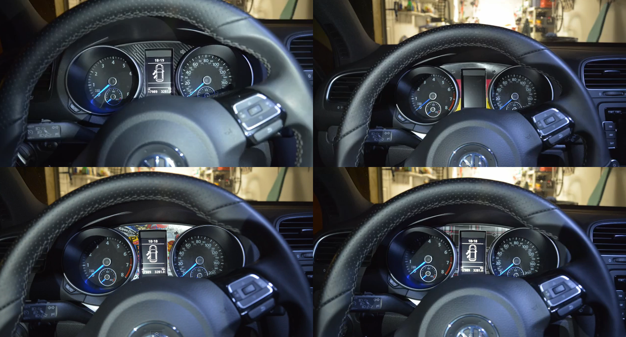 Image of Dashboard Cluster Instrument or DSG Gear Shifter Vinyl Trim fits: Golf/GTI MK6