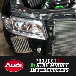 "Image of PROJECT:B5 - ""R1"" SIDE MOUNT INTERCOOLERS"