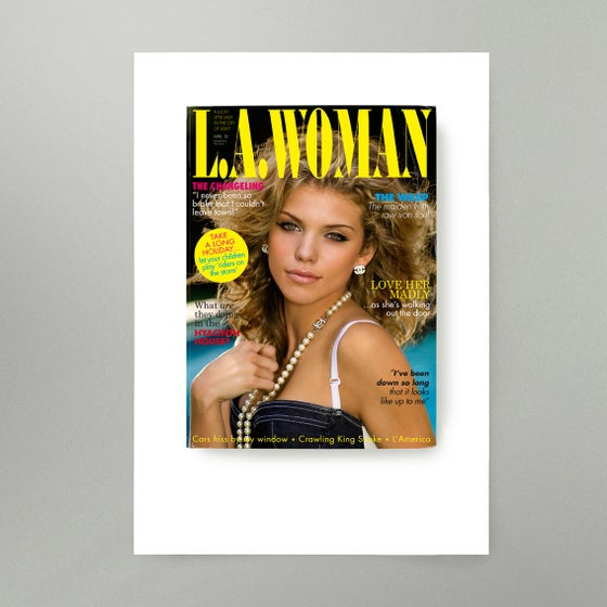 Image of LA Woman Art Print