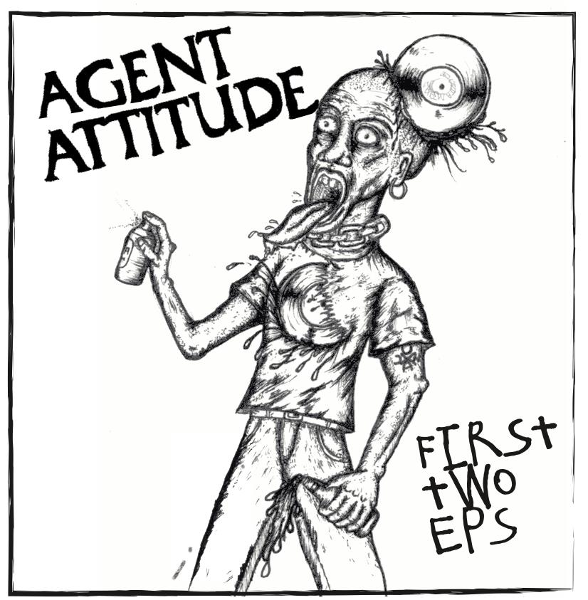 """Image of AGENT ATTITUDE """"first 2 ep's"""""""