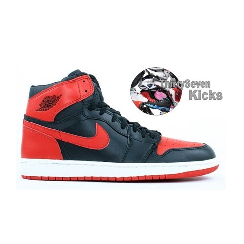 "Image of Jordan Retro 1 ""Bred"" Grade School"