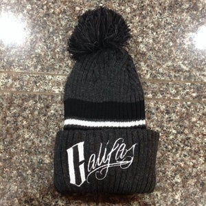 Image of Pom striped beanies