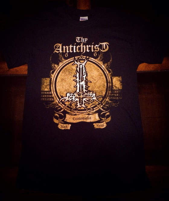 Image of THY ANTICHRIST Man is the true Antichrist on Earth Tshirt - Free shipping in the U.S.