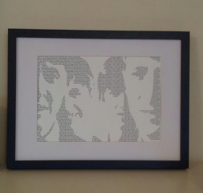 Image of The Beatles / Hey Jude Print