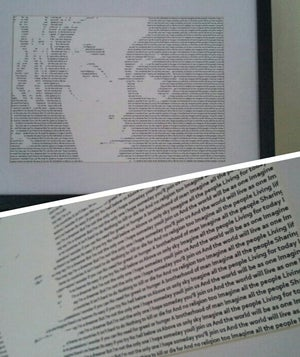 Image of John Lennon / Imagine Print