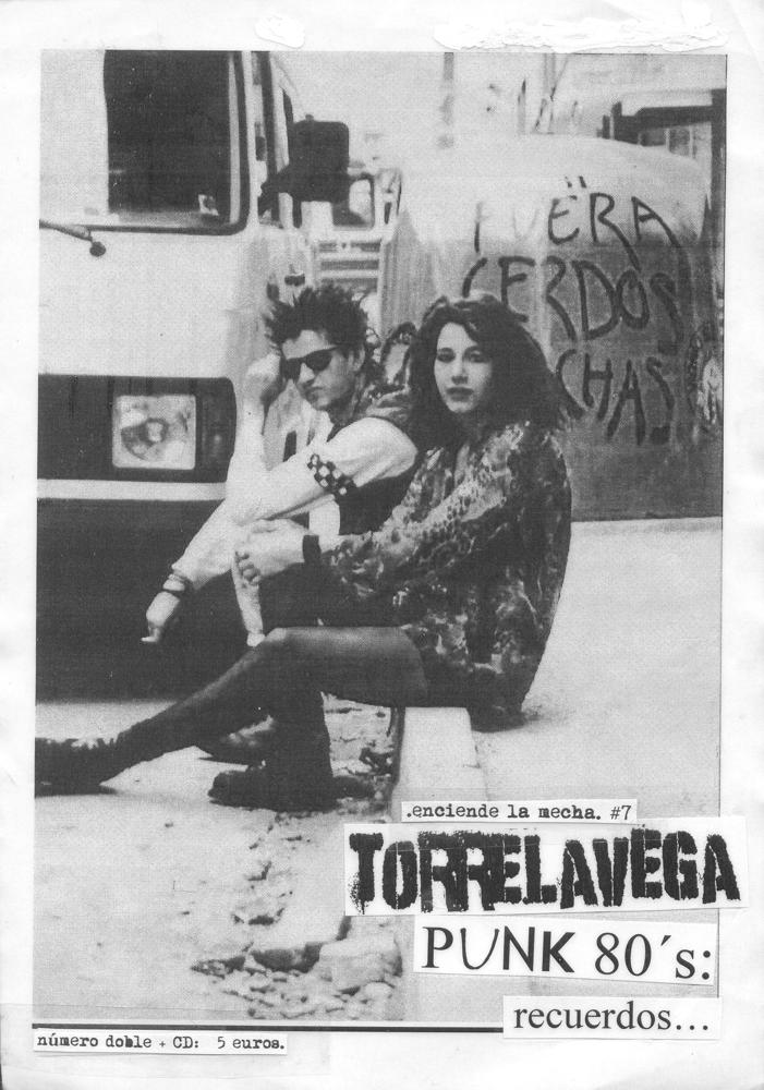 Image of Enciende La Mecha #7. Dossier Torrelavega Punk 80´s.