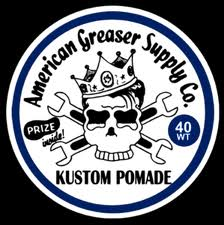 Image of 40Wt. Kustom Pomade 2oz. Screw Top Pocket Grease Tin Cans