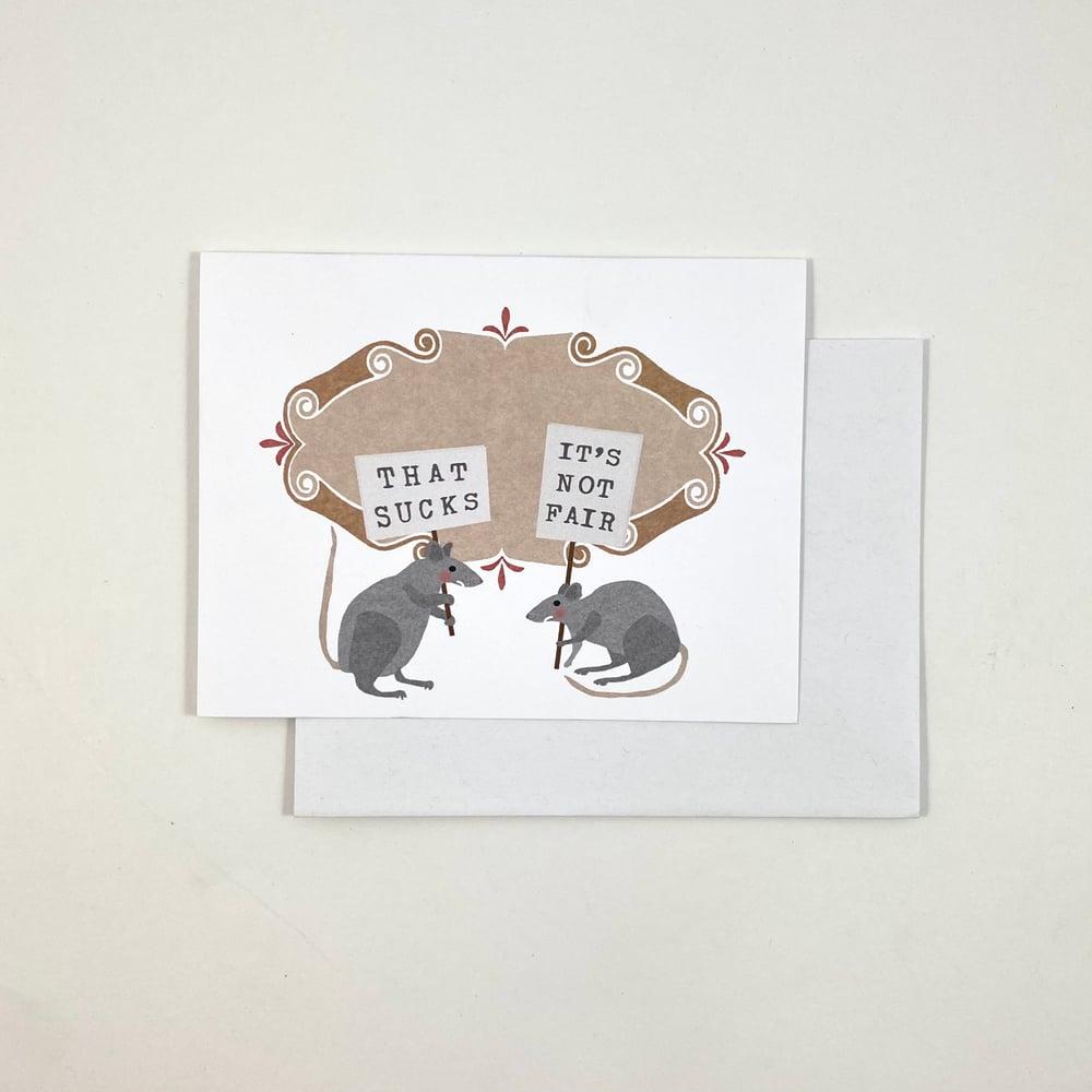 Image of Rats Card