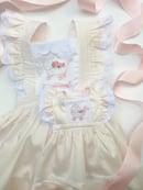 Image 4 of Custom Satin Batiste American Girl Doll Dress