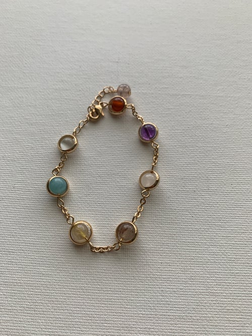 Image of BAUBLES • Colorful Ball Bead Bracelet