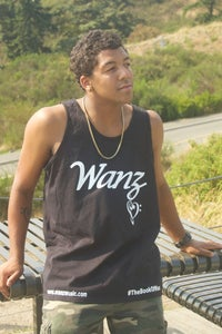 Image of Wanz Tank Top Black