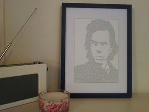 Image of Nick Cave / Into My Arms Print