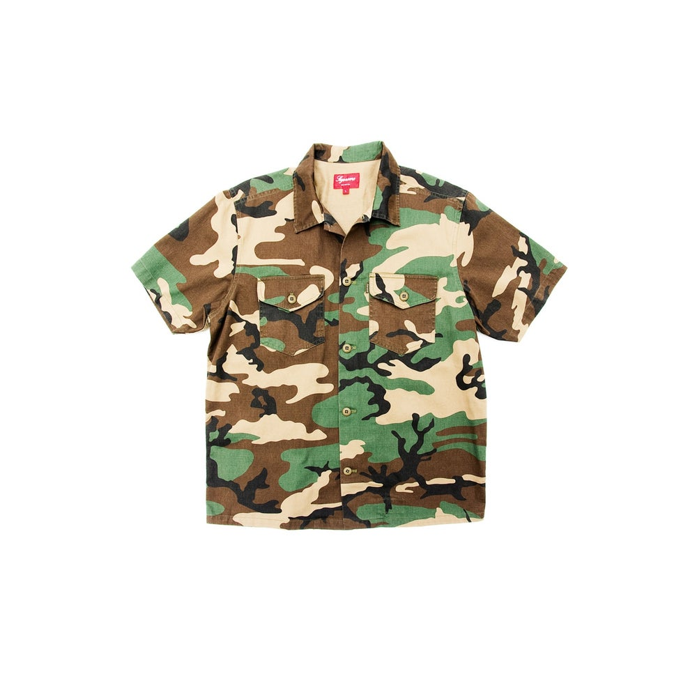 """Image of SUPREME """"NAM"""" BUTTON-UP"""