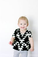 Image 3 of girl's PIPPA peplum knit top 3M to 10