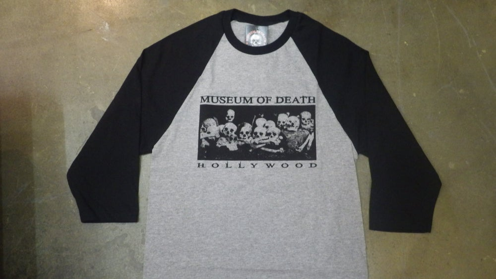 Image of Bed Of Skulls Hollywood (Light Grey) - Jersey Shirt