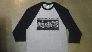 Image of M.O.D. Hollywood Bed Of Skulls 3/4 sleeve Jersey Shirt