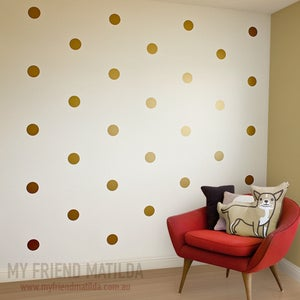 Image of Polka Dots Wall Sticker