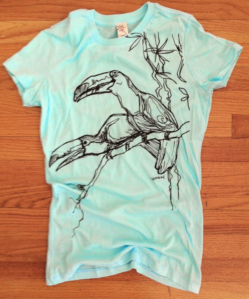 Image of Toucans Womens shirt