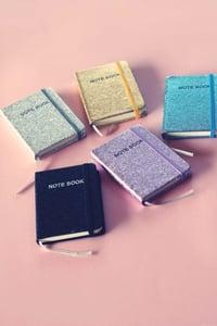 Image of Mini Glitter Notebooks