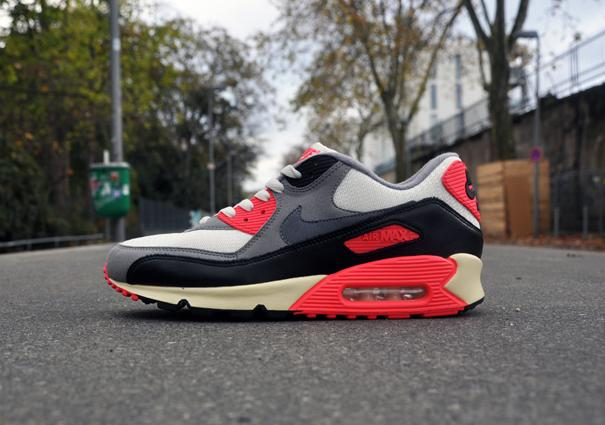 fashion size 7 cost charm NIKE AIR MAX 90 INFRARED VINTAGE OG - SIZE 9 AND 10 | lovesneaks