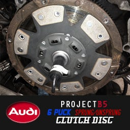 Image of PROJECTB5 - 6 PUCK Sprung or UN-Sprung Race Clutch Disc
