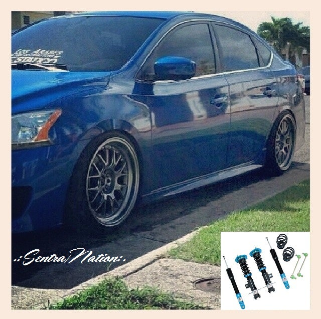 Image of (B17) Megan Street Series Coilovers/Damper Kit Fits +13 Sentra