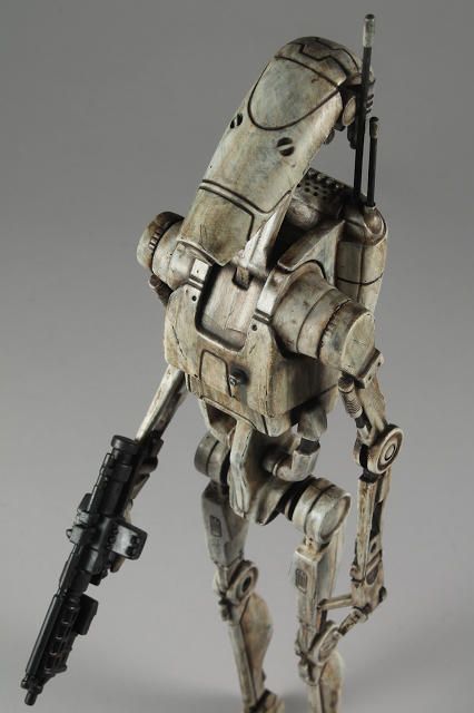"Image of 12"" Star Wars Trade Federation Battle Droid"