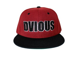 Image of Burgundy Dvious Snapback