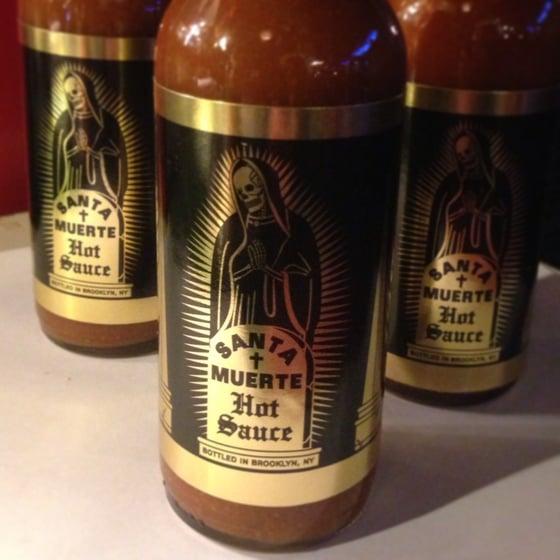 Image of Santa Muerte Hot Sauce