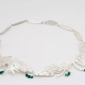 Image of Botanical Language of Flowers Necklace: Trust in Yourself...