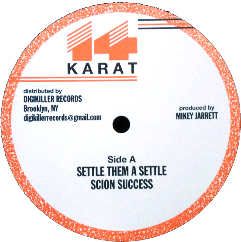 "Image of Scion Success / Madoo - Settle Them a Settle / Lose Respect 12"" (14 Karat)"
