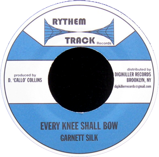 "Image of Garnett Silk - Every Knee Shall Bow 7"" (Rythem Track)"