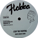 """Image of Barry Brown / Roots Radics Band - Them Ha Fi Get a Beatin / Stop the Fighting 12"""" (Flabba)"""
