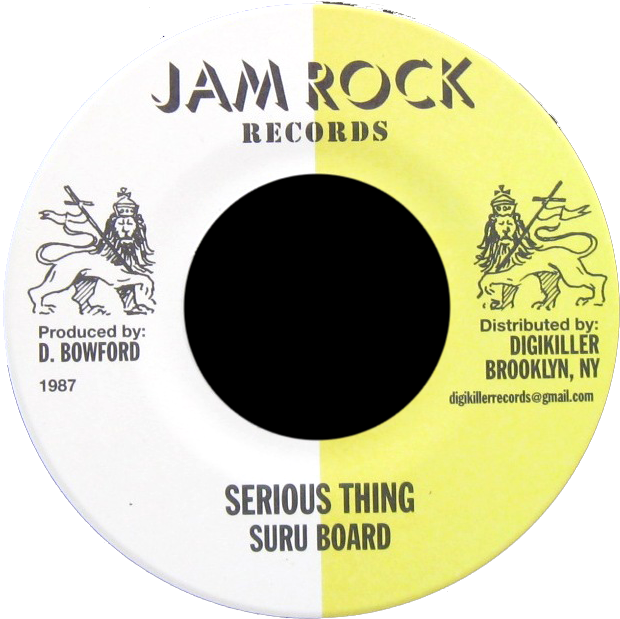 "Image of Suru Board - Serious Thing 7"" (Jam Rock)"