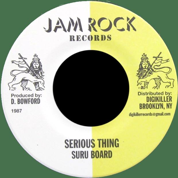 """Image of Suru Board - Serious Thing 7"""" (Jam Rock)"""