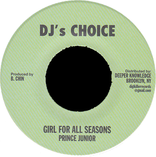 "Image of Prince Junior - Girl For All Seasons 7"" (DJ's Choice)"