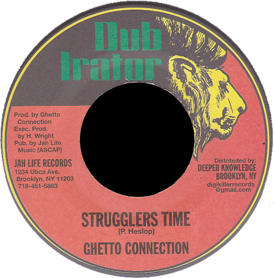 "Image of Ghetto Connection - Strugglers Time 7"" (Dub Irator)"
