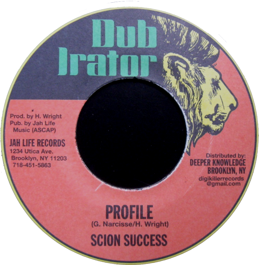 "Image of Scion Success - Profile 7"" (Dub Irator)"