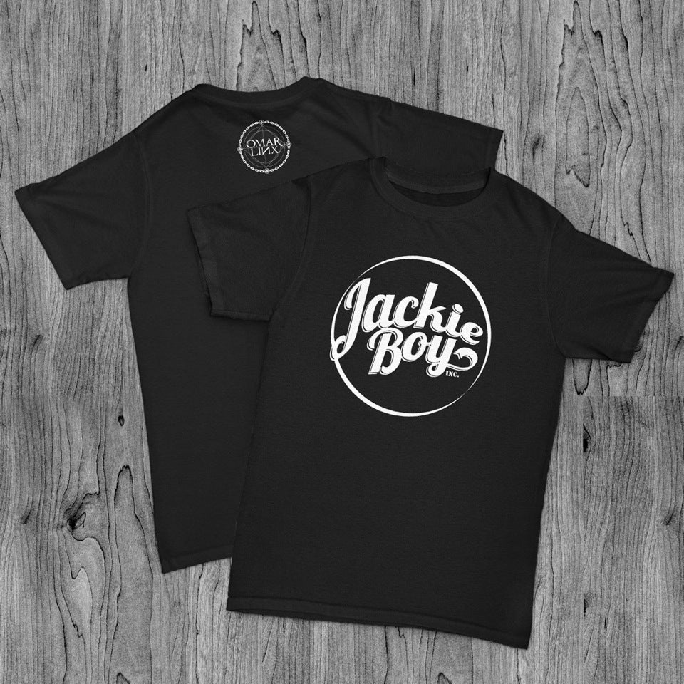 Image of Jackie Boy Black T-Shirt