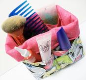 Image of Mini Organizer Basket with 12 Pockets pdf Sewing Pattern