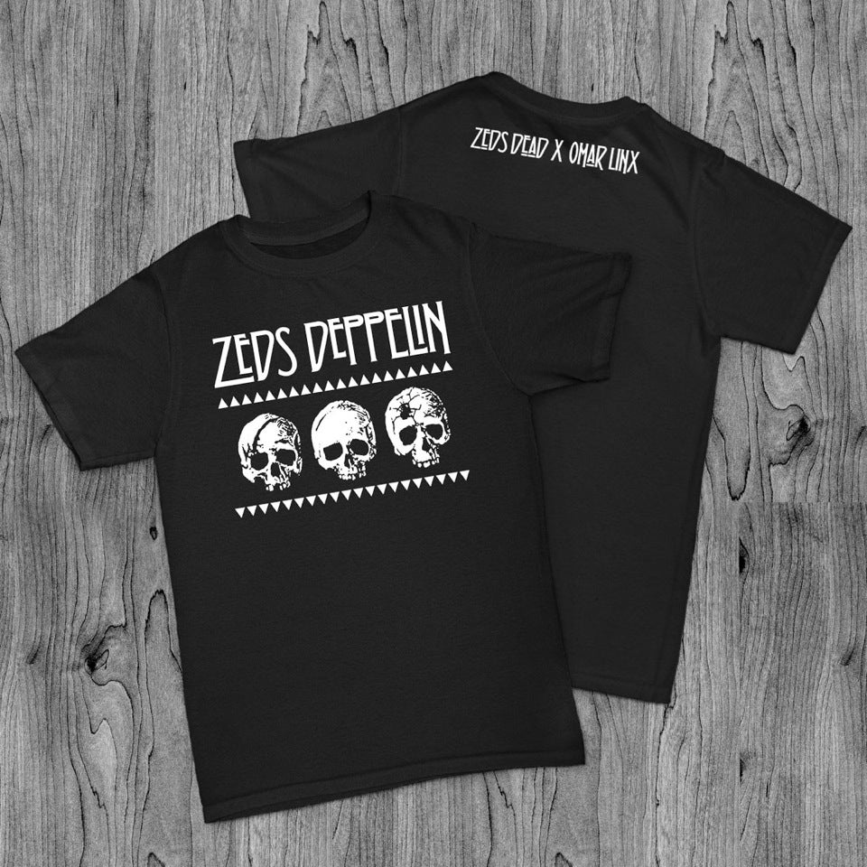 Image of Zeds Deppelin Black T-shirt