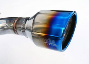 Image of Invidia Q300 Cat-Back Exhaust Titanium Tips